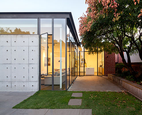 Mill Street House Ballarat by Moloney Architects (via Lunchbox Architect)