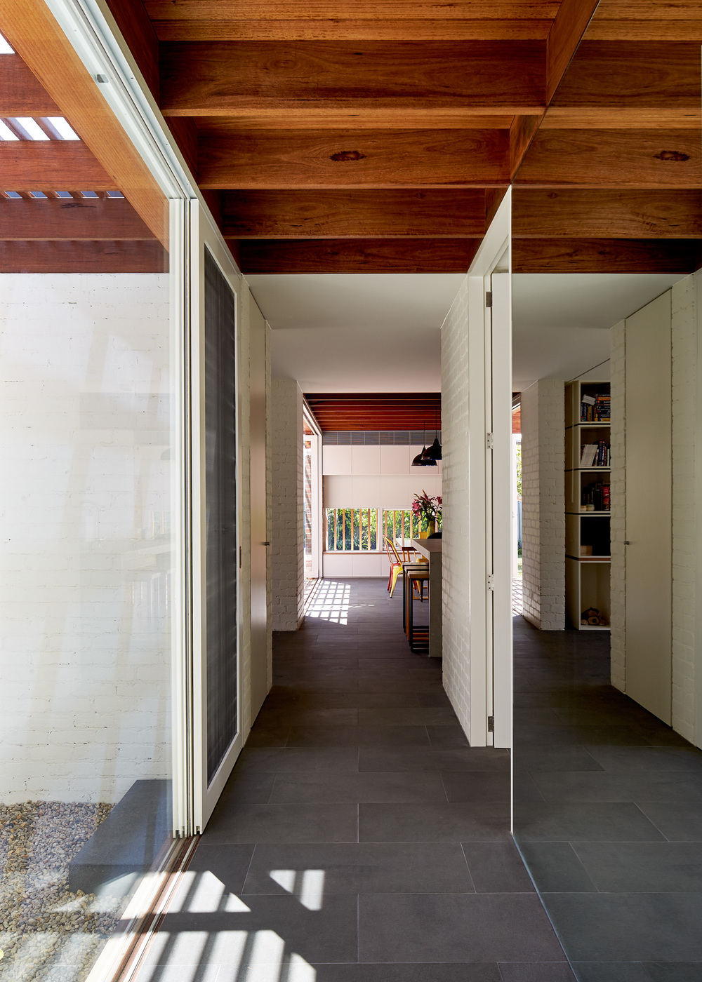 Rich Materials And Light Filled Courtyards Connect Old To New