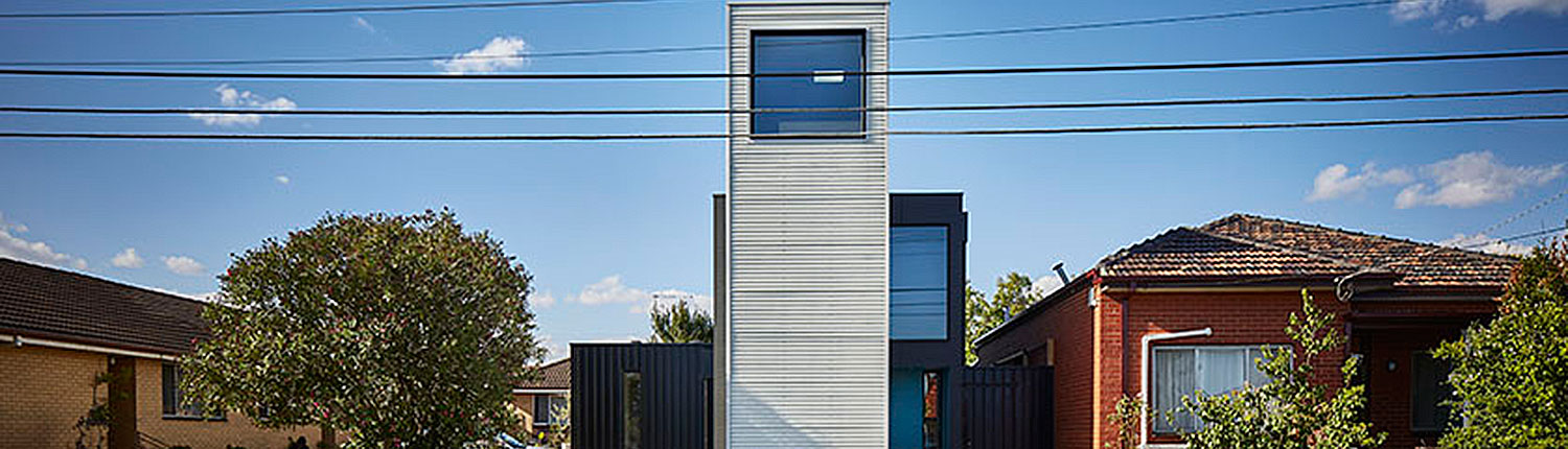 Modular Tower House