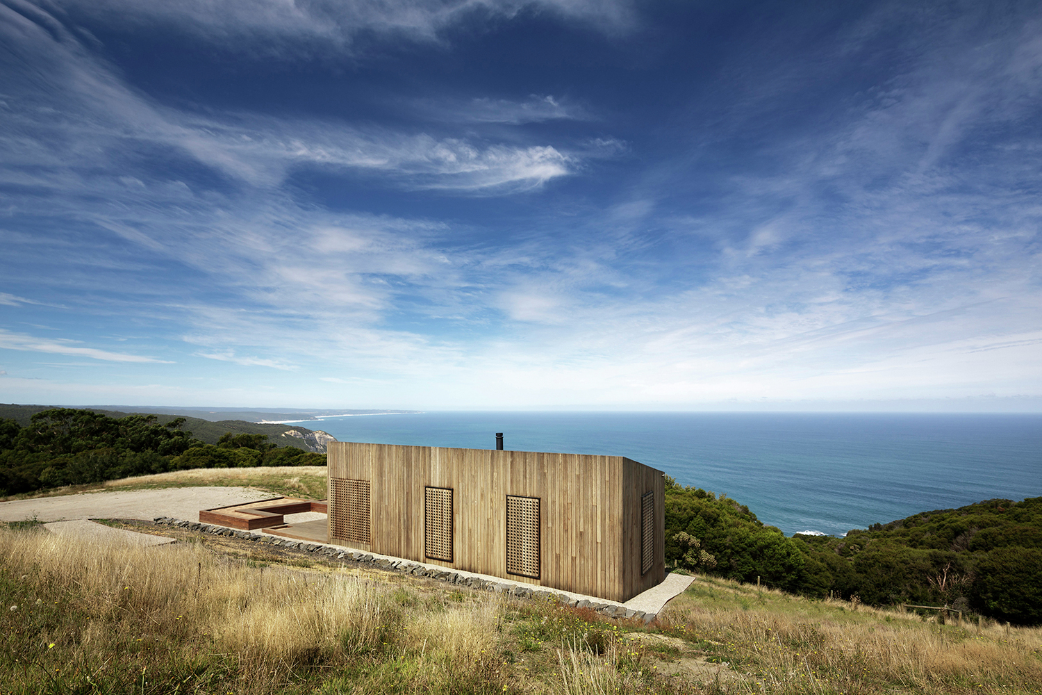 Moonlight Cabin by Jackson Clements Burrows Architects (via Lunchbox Architect)