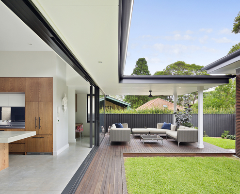 Mosman House by Annabelle Chapman Architect (via Lunchbox Architect)
