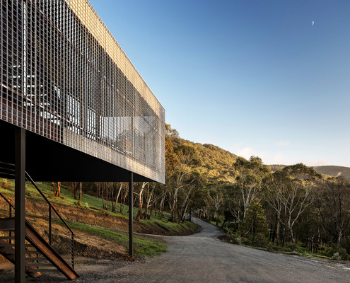 Mt Macedon House by Field Office Architecture (via Lunchbox Architect)