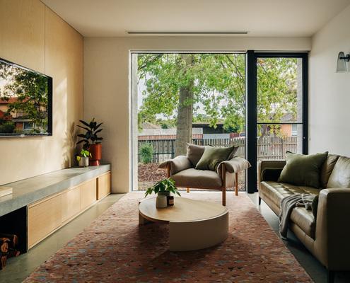 North South House by Preston Lane Architects (via Lunchbox Architect)