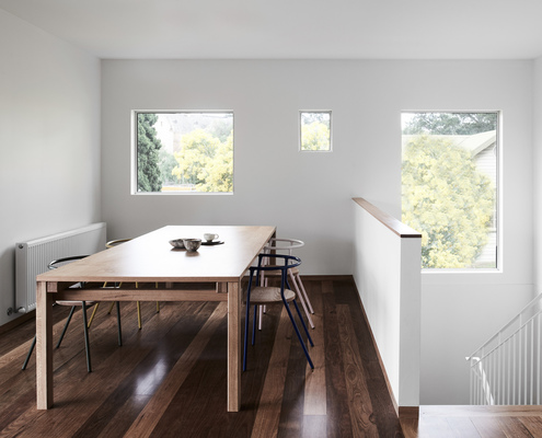 Northcote House by Winwood Mckenzie Architecture (via Lunchbox Architect)
