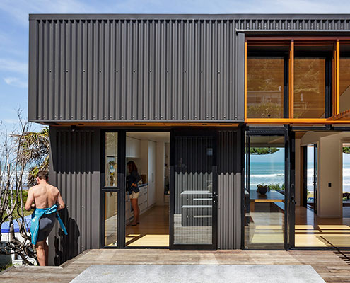 OffSET Shed House by Irving Smith Jack Architects (via Lunchbox Architect)
