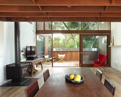 Orange Grove House by Fiona Winzar Architects (via Lunchbox Architect)