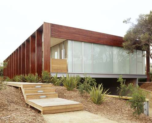 Peninsula House by Watson Architecture + Design (via Lunchbox Architect)
