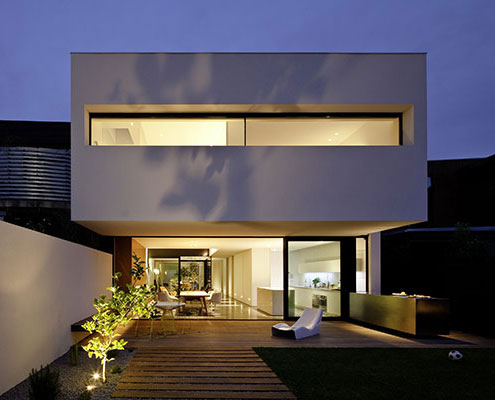 Peter Miglis House by Woods Bagot Architects (via Lunchbox Architect)