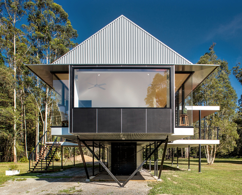 Platypus Bend House by Robinson Architects (via Lunchbox Architect)