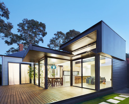 Pod House by Nic Owen Architects (via Lunchbox Architect)