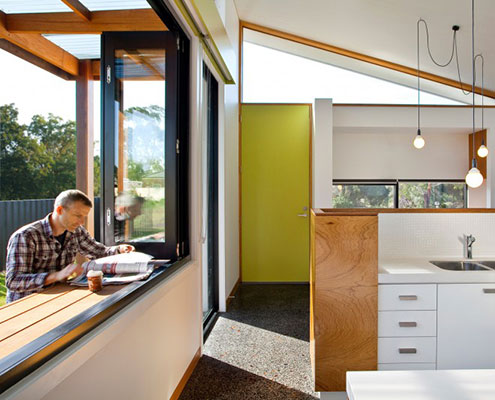 Inverloch Passive Solar House by ArchiBlox (via Lunchbox Architect)