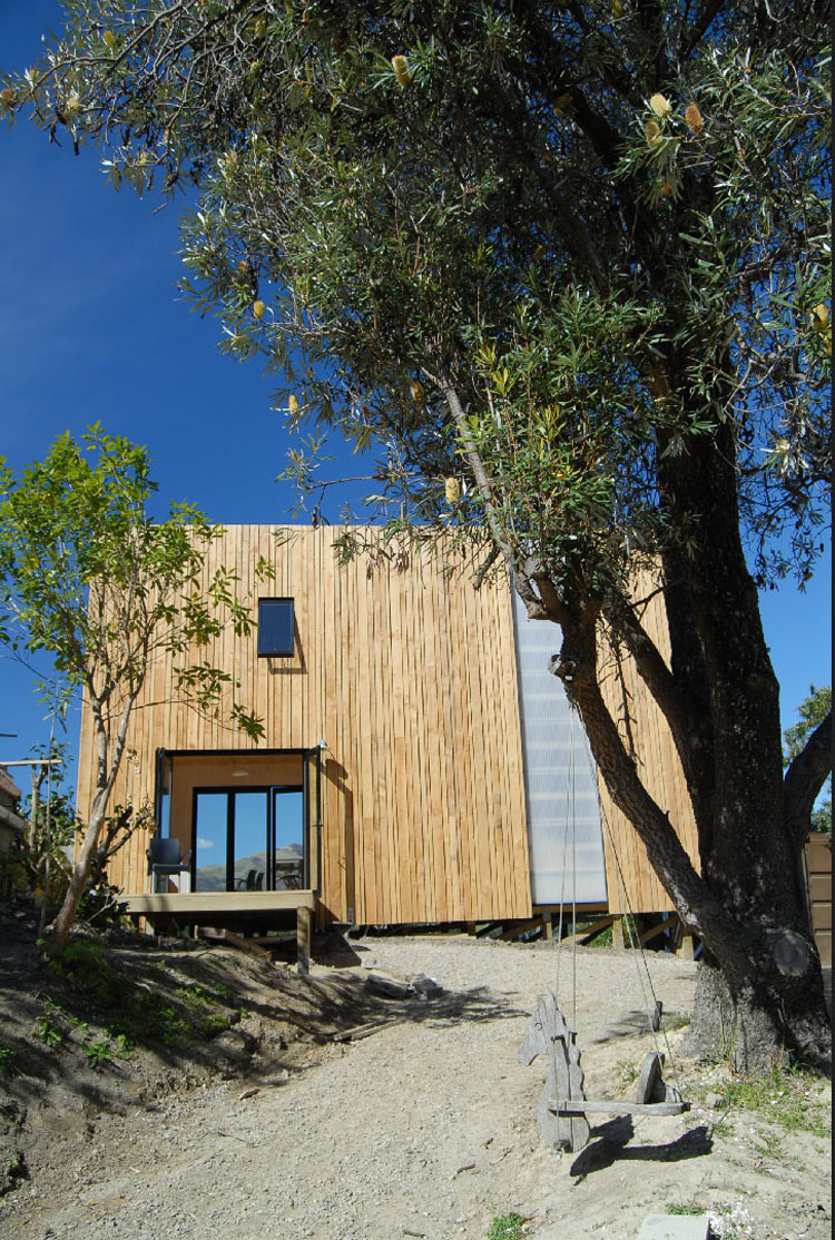 Guess how long it took to build the prefab warrander studio for Prefabricated studio