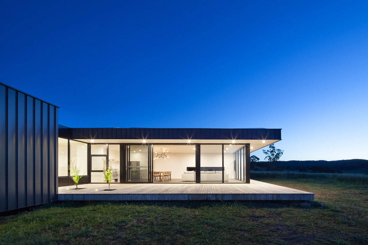 An Off Grid Sustainable House In The Victorian Central
