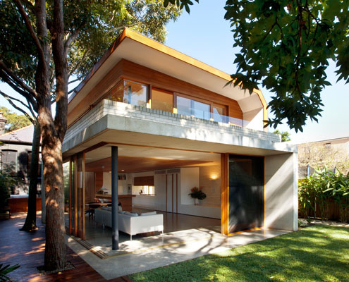 Queens Park House by Fox Johnston Architects (via Lunchbox Architect)