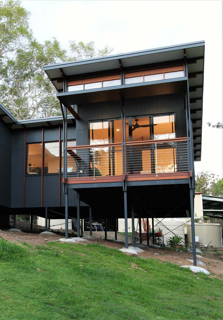 This Modern Tropical Home is a Granny Flat for a Hip Elderly ... on