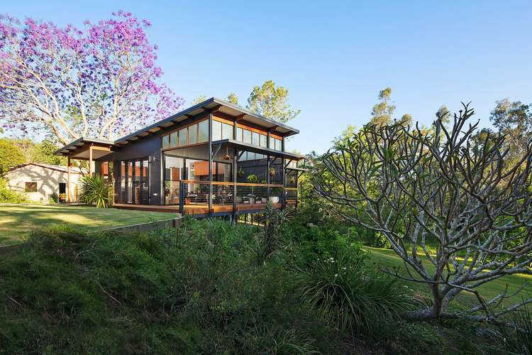 this modern tropical home is a granny flat for a hip elderly couple