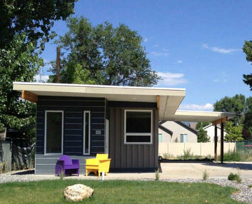 Sarah House Shipping Container Home by Jeffrey White (via Lunchbox Architect)
