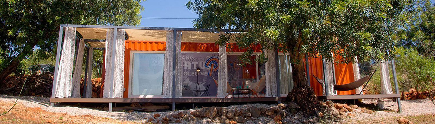 Shipping Container Guest House: