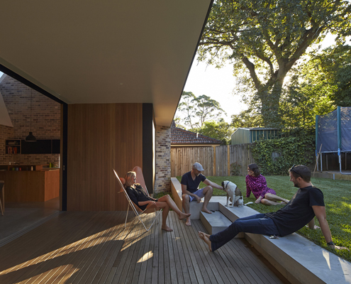 Skylight House by Andrew Burges Architects (via Lunchbox Architect)