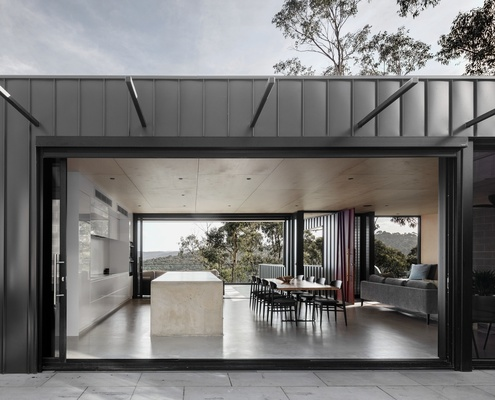 Skyline House by Lachlan Shepherd Architects (via Lunchbox Architect)