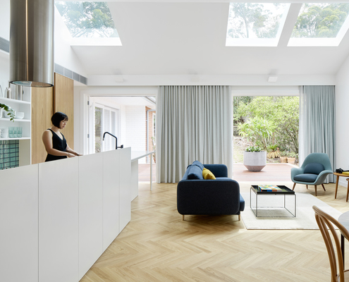 Skylit House by Downie North Architects (via Lunchbox Architect)