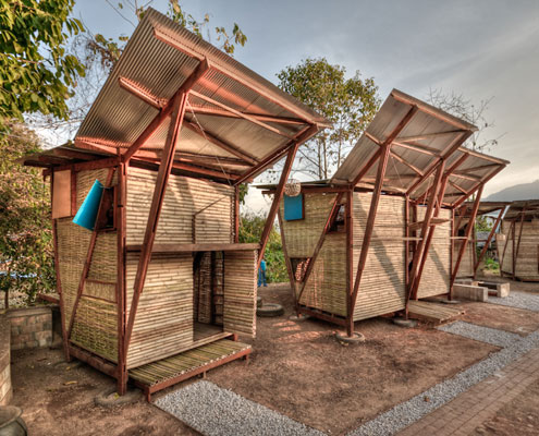 Soe Ker Tie Houses Thailand by TYIN Tegnestue (via Lunchbox Architect)