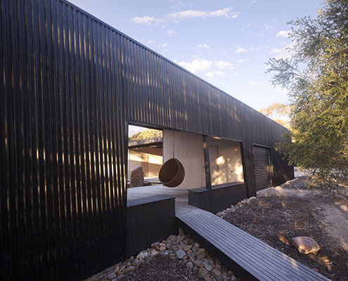 Somers Courtyard House by Opat Architects (via Lunchbox Architect)