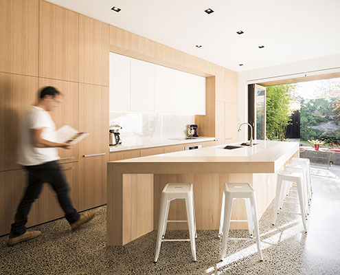 South Melbourne House by Mitsuori Architects (via Lunchbox Architect)