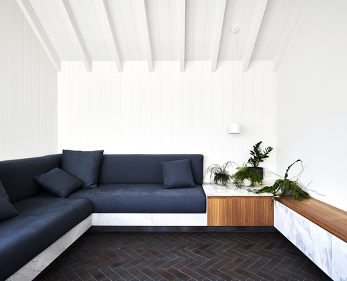 St Kilda Apartment Renovation by  (via Lunchbox Architect)
