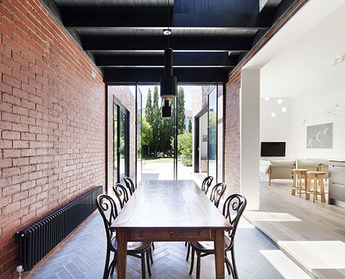 St Kilda East House by Clare Cousins Architects (via Lunchbox Architect)