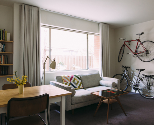 Staley Apartment by Jos Tan Architects (via Lunchbox Architect)