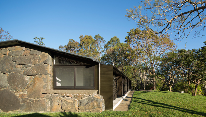 Modern Stone Cottage dilapidated stone cottage transformed into a modern family home