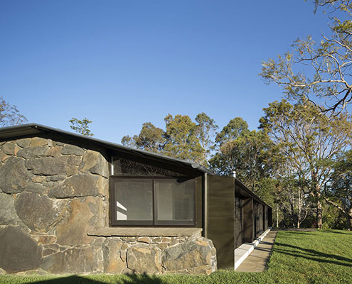 Stone House by CHROFI Architects (via Lunchbox Architect)