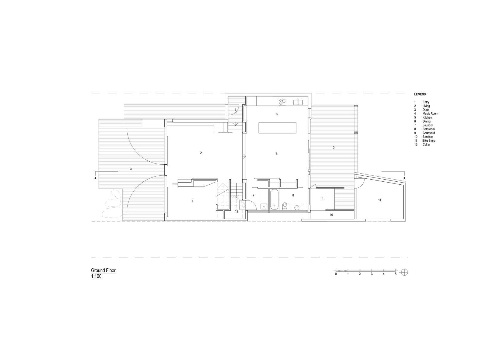 Stonewood Homes Floor Plans Part - 47: Stonewood House Northcote By Breathe Architecture (via Lunchbox Architect) House  Plans