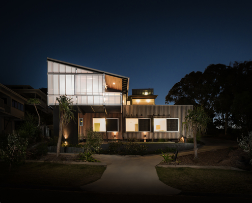 Stradbroke Dual Occupancy by Graham Anderson Architects (via Lunchbox Architect)