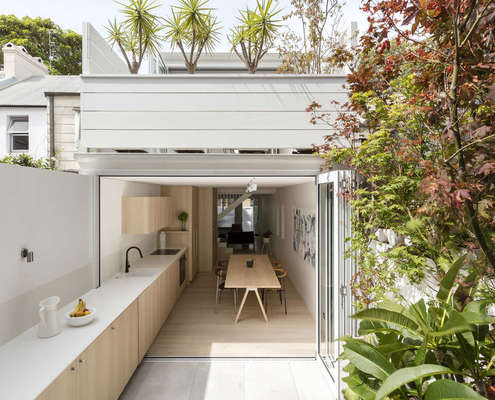 Surry Hills House by Benn & Penna Architects (via Lunchbox Architect)