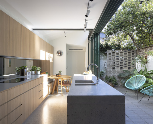 Surry Hills Terrace by CO-AP (via Lunchbox Architect)