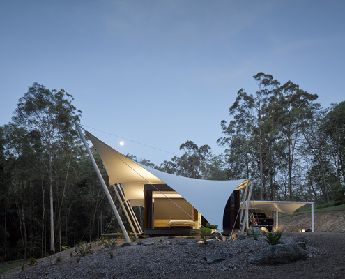 Tent House by Sparks Architects (via Lunchbox Architect)