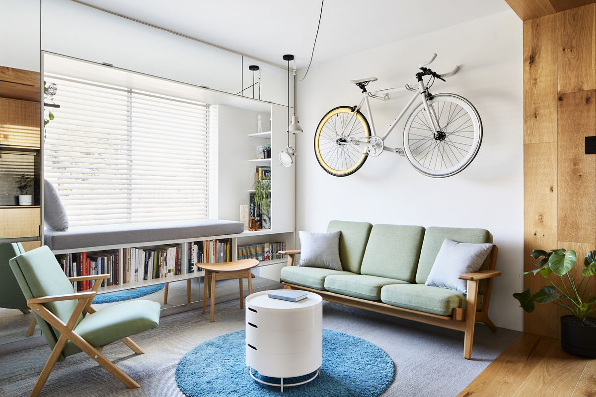 This Compact Apartment is Like a Transformer to Maximise Space