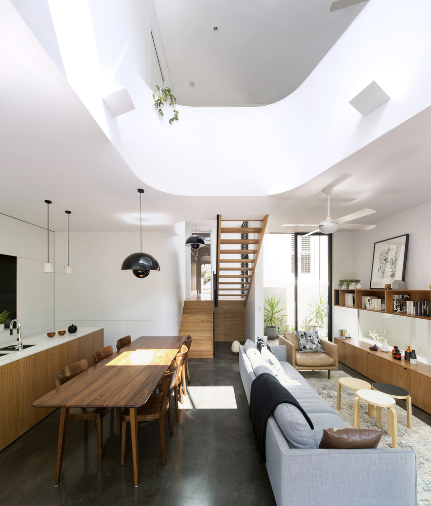 A New Two-Storey Living Space Unfurls From Original Federation Home