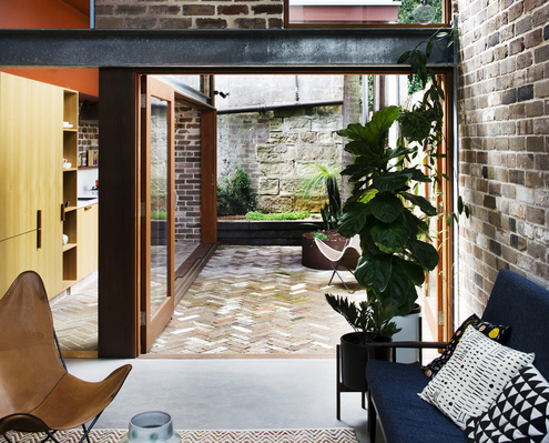 Walter Street Terrace by David Boyle Architect (via Lunchbox Architect)
