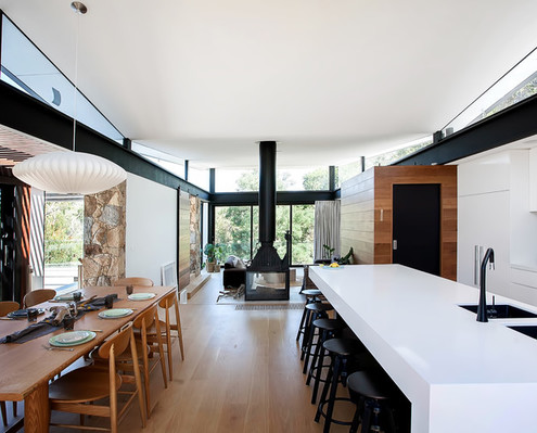 Warrandyte House by Alexandra Buchanan Architecture (via Lunchbox Architect)
