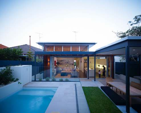 Waverley House by Sam Crawford Architects (via Lunchbox Architect)