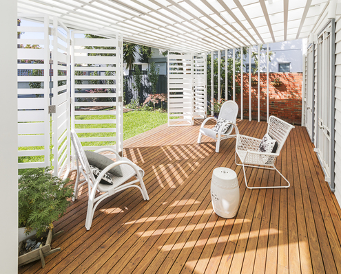 White Delight by POLYstudio (via Lunchbox Architect)
