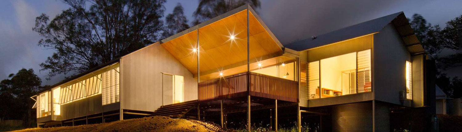 Shed Style Architecture | Whyatt House Australian Bush Style Home Built From Prefabricated Shed