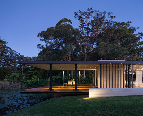 Wirra Willa Pavilion by Matthew Woodward Architecture (via Lunchbox Architect)