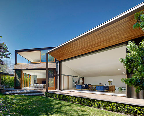 Woollahra House by Tzannes Associates (via Lunchbox Architect)