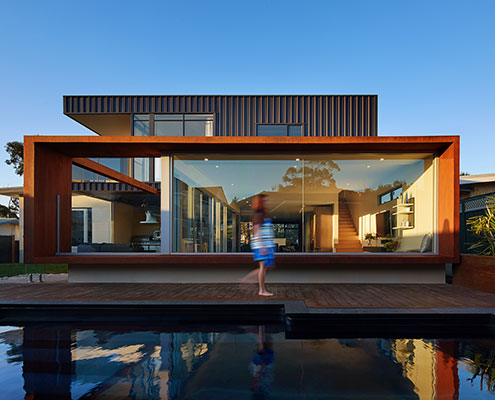 XYZ House by Mark Aronson Architecture (via Lunchbox Architect)
