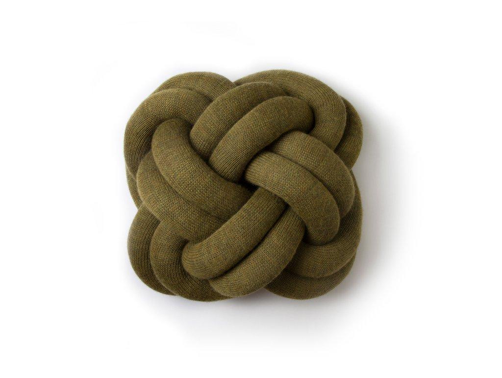 Knot Pillow Green